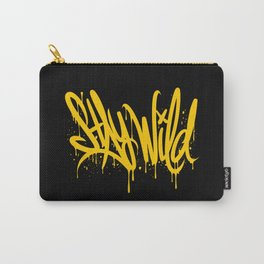Stay wild graffiti Carry-All Pouch
