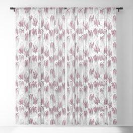 radicchio Sheer Curtain