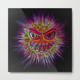 Jojo the little Monster Metal Print