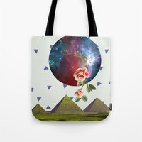 oriental Tote Bags featuring Oriental by Nasaém