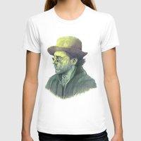 sherlock holmes T-shirts featuring sherlock holmes by Doruktan Turan