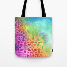 Between the pink and the blue Tote Bag