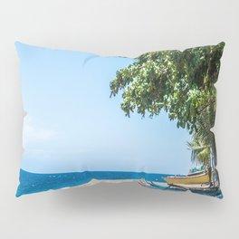 A Bend in the Beach Pillow Sham