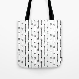 Shooting Arrows Tote Bag