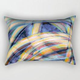 Tangled cables Rectangular Pillow