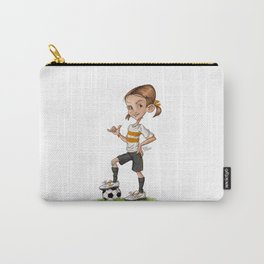 Soccer Girl Carry-All Pouch