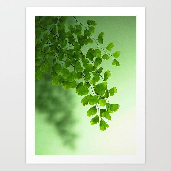 Green is the Colour Art Print