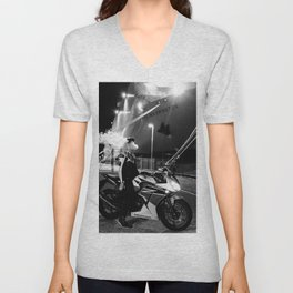 The Ships and The Smoke Unisex V-Neck