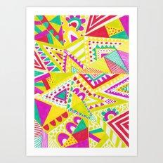 Circus Candy Gemetic Art Print
