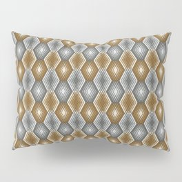 Diamond Outline Pattern Pillow Sham