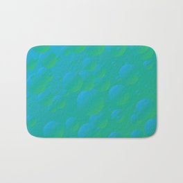 Fizzy Pear - Gradients in blue and green Bath Mat
