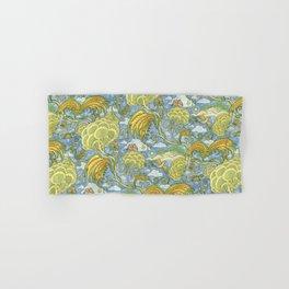 Tolkien Pattern - Plants Hand & Bath Towel