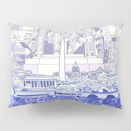 washington dc city skyline Pillow Sham