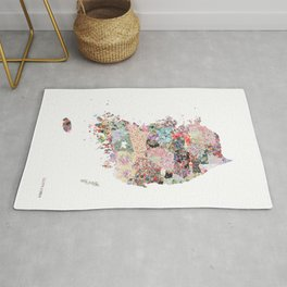 South Korea Rug