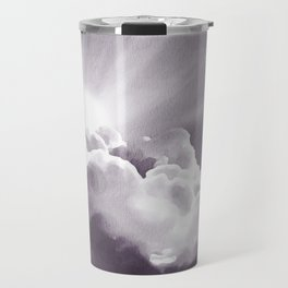 Sun Peeking Over The Clouds Travel Mug