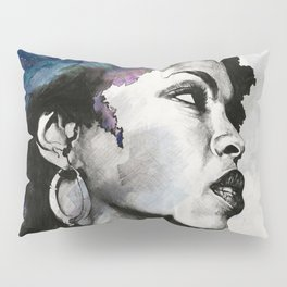Miseducation: Lauryn Hill tribute portrait Pillow Sham