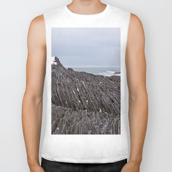 The Ends of the Earth are Frozen in Time Biker Tank