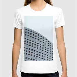 Echo grid T-shirt