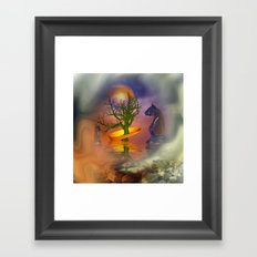 Mobius strip and other things Framed Art Print