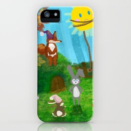 Headstrong bunny caught the Sun iPhone Case