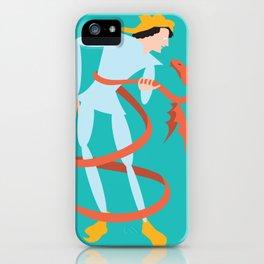 Dragonboy, green iPhone Case