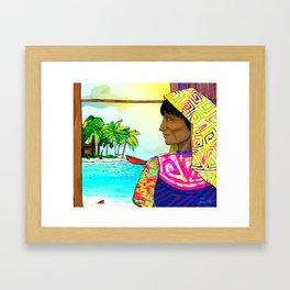 Gunadise Framed Art Print