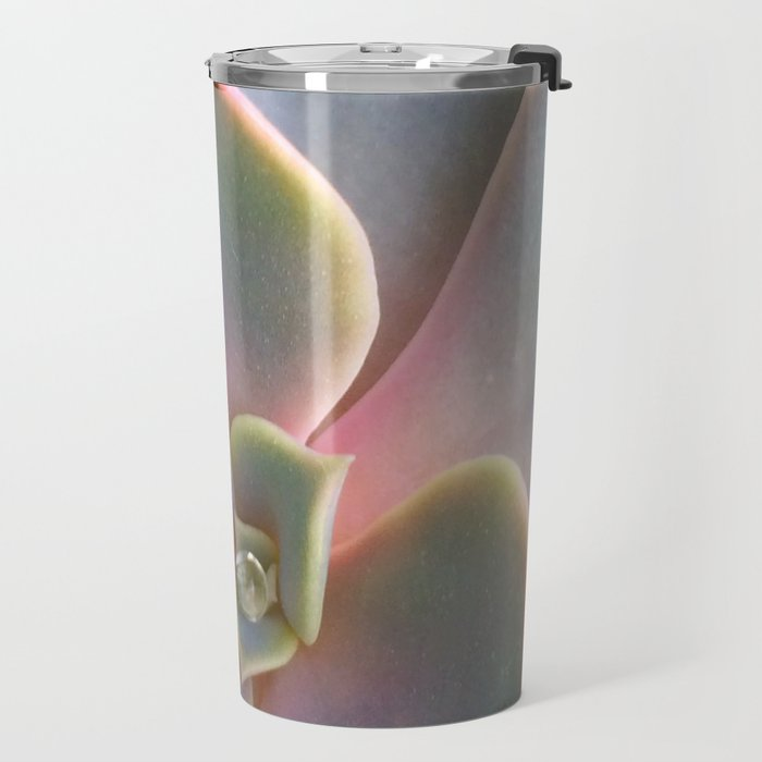 Succulent Dew Drop Travel Mug