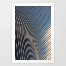 Oscillate Art Print