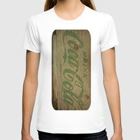 coca cola T-shirts featuring Drink Coca Cola by Irène Sneddon