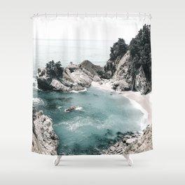 California Beach Shower Curtain