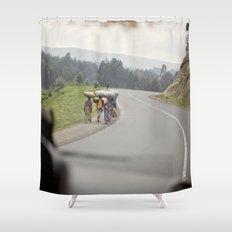strength::rwanda Shower Curtain
