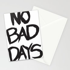 No Bad Days - T Stationery Cards