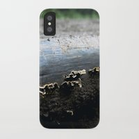 mushrooms iPhone & iPod Cases featuring mushrooms by nast
