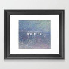 Magic Feeling Framed Art Print
