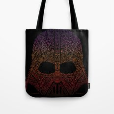 Darth Neon Trooper Tote Bag