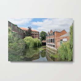 River Foss York Metal Print