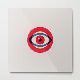 Eye Logo Metal Print