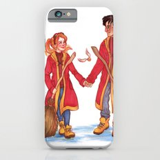 Quidditch Harry and Ginny iPhone 6 Slim Case