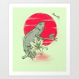 The Seeker Art Print