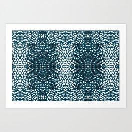 lotus collection rain drop texture Art Print