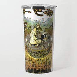 Golden Offering Travel Mug