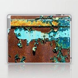 Old Metal Door Laptop & iPad Skin