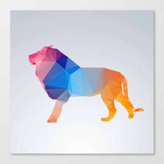 Glass Animal Series - Lion Canvas Print