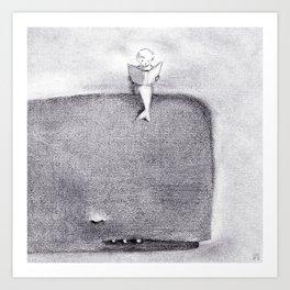 Willa & Boris Art Print