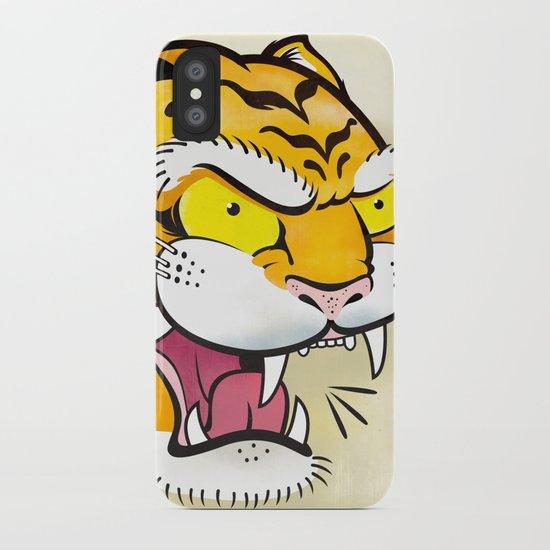 Tiger Tattoo Flash iPhone Case