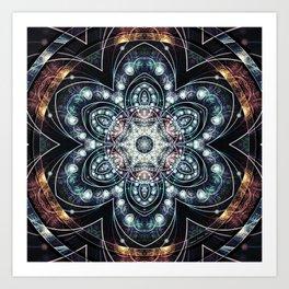Mandalas from the Voice of Eternity 4 Art Print