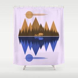 Bear Cubs Shower Curtain