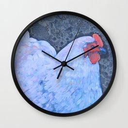 Big Fat Lavender Orp Wall Clock