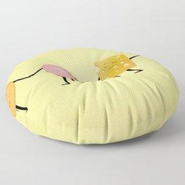 Lunchables - Best Friends Floor Pillow