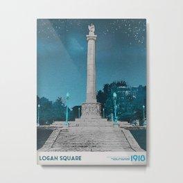 Logan Square - Illinois Centennial Monument 1918 Metal Print